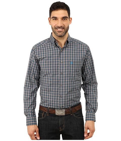 Ariat - Yuma Long Sleeve Shirt (Nine Iron) Men