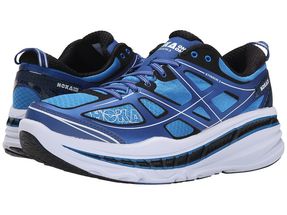 Hoka One One - Stinson 3 (True Blue/White) Men's Running Shoes