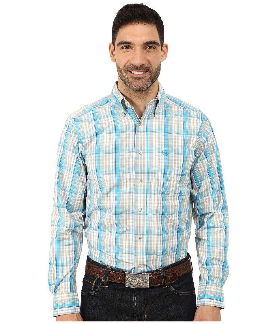 Ariat - Yale Long Sleeve Shirt (Multi) Men's Long Sleeve Button Up