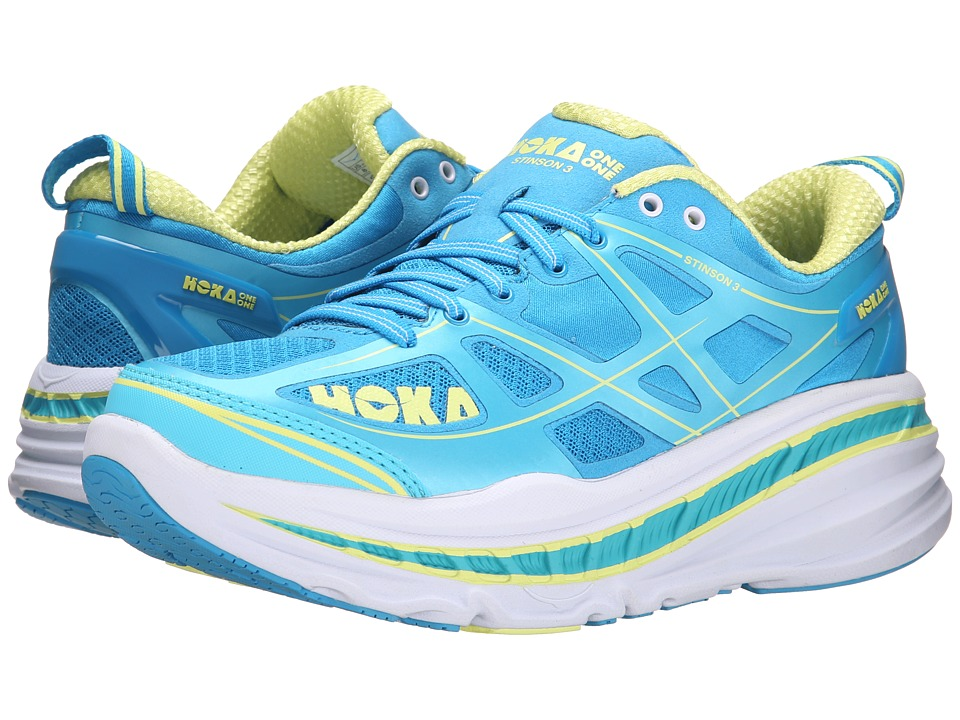 Hoka One One - Stinson 3 (Dresden Blue/Blue Atoll) Women's Running Shoes