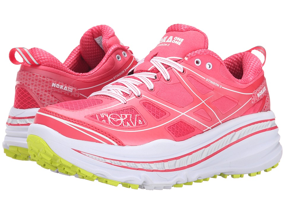 Hoka One One - Stinson 3 ATR (Paradise Pink/Acid) Women's Running Shoes