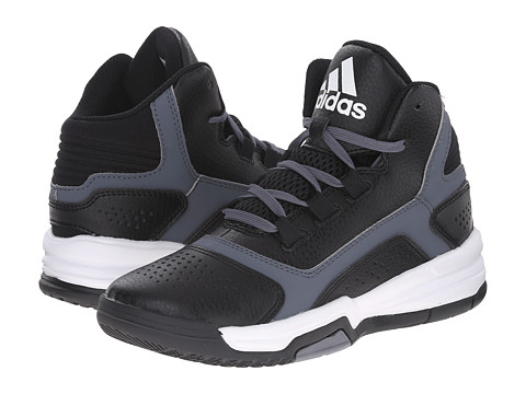 adidas Kids - Amplify C (Little Kid/Big Kid) (Black/Onix/White) Boys Shoes