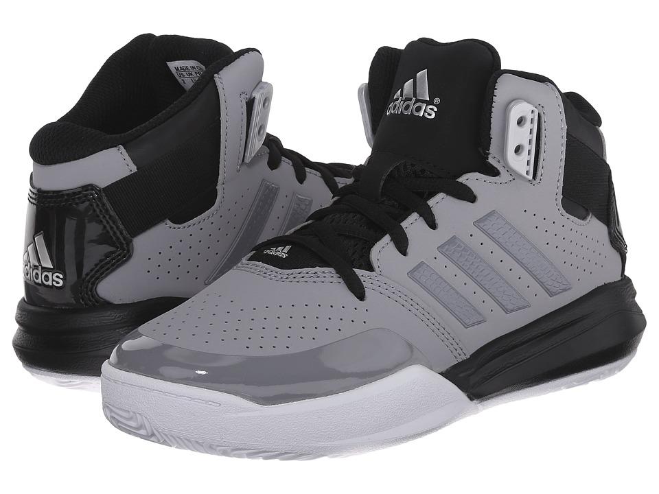 adidas Kids Outrival 2 K (Little Kid/Big Kid) (Light Onix/Silver Metallic/Black) Boys Shoes