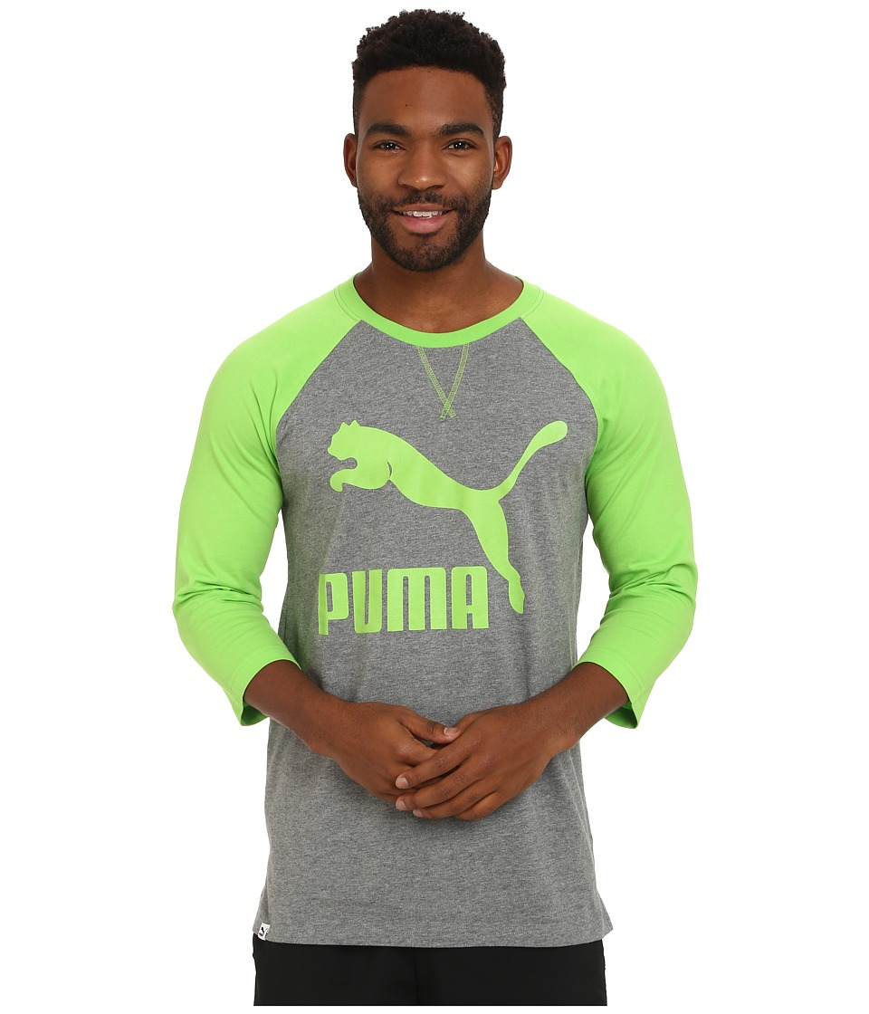 PUMA - Extra Long Raglan (Jasmine Green) Men