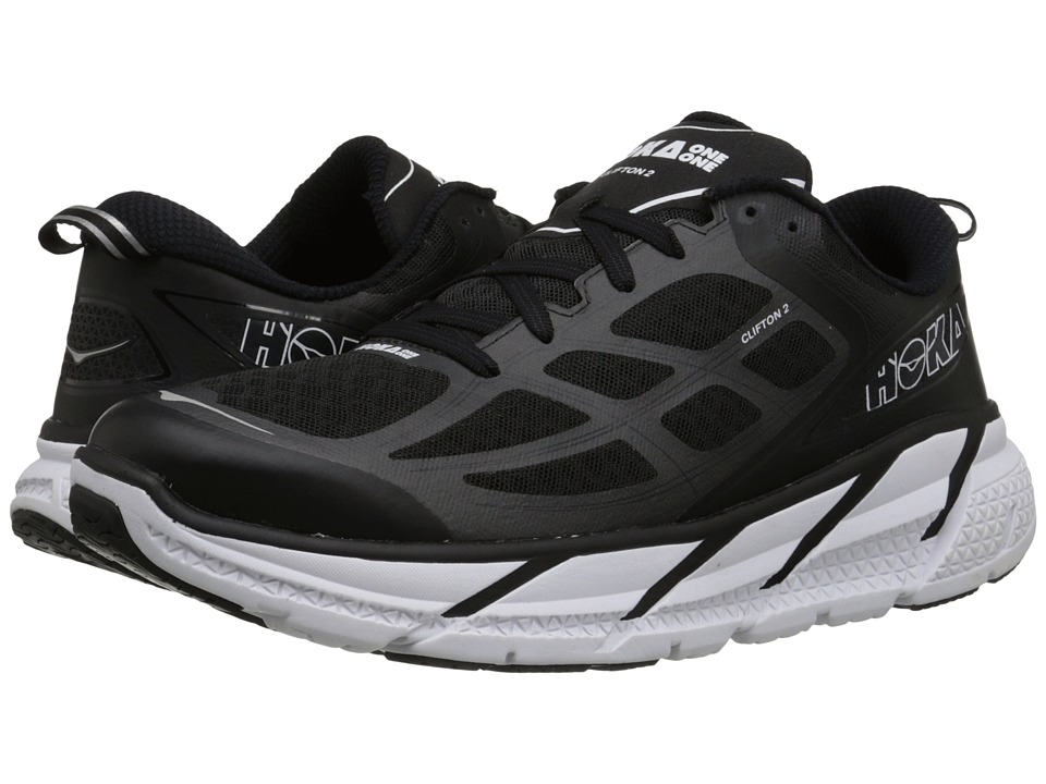 Hoka One One - Clifton 2 (Black/Anthracite) Men's Running Shoes