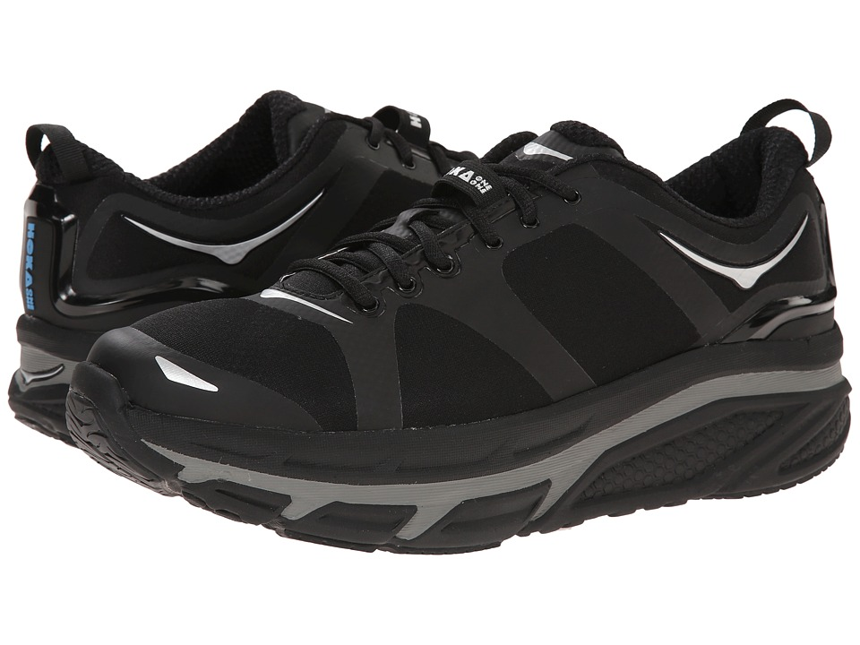 Hoka One One - Valor (Black) Men's Running Shoes
