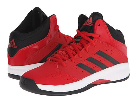 adidas Kids - Isolation 2 K (Little Kid/Big Kid) (Scarlet/Black/Onix) Boys Shoes