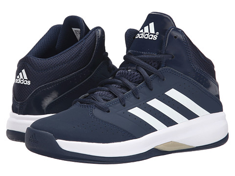 adidas Kids - Isolation 2 K (Little Kid/Big Kid) (Collegiate Navy/White/Tech Metallic) Boys Shoes