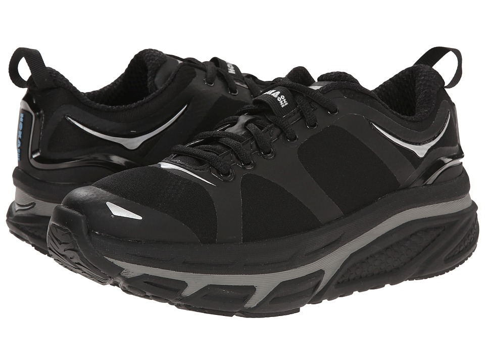 Hoka One One - Valor (Black) Women's Running Shoes