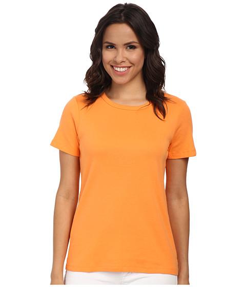 Pendleton - S/S Rib Tee (Orange Peel) Women