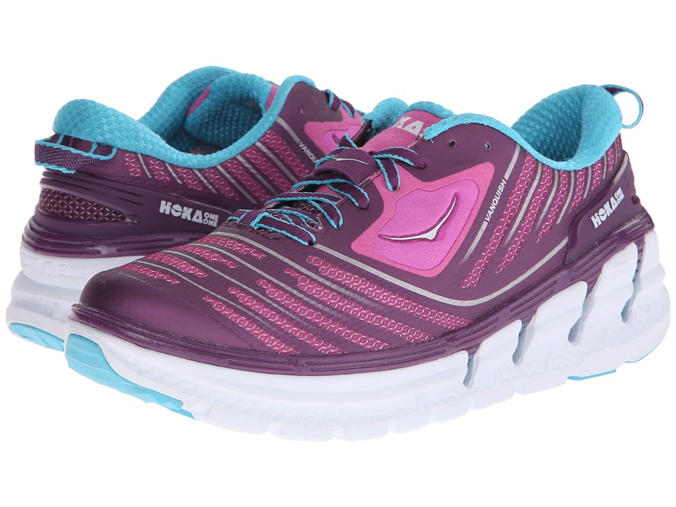 Hoka One One - Vanquish (Plum/Fuchsia) Women's Running Shoes