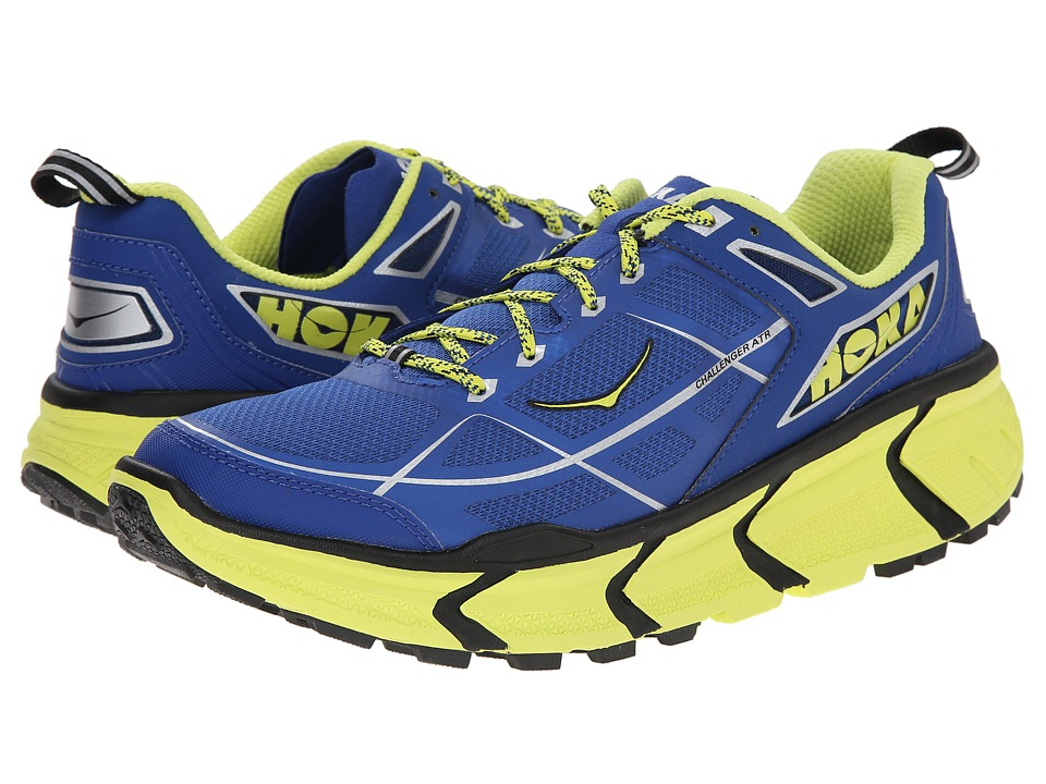 Hoka One One - Challenger ATR (True Blue/Citrus) Men's Running Shoes