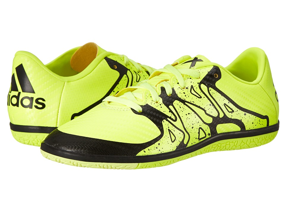 adidas Kids - X 15.3 IN J Soccer (Little Kid/Big Kid) (Solar Yellow/Frozen Yellow/Black) Kids Shoes