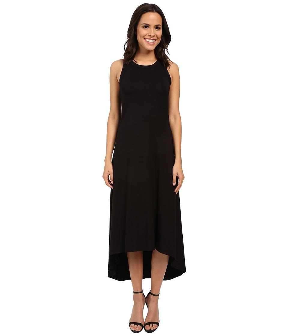 Karen Kane Hi Lo Maxi Dress (Black) Women
