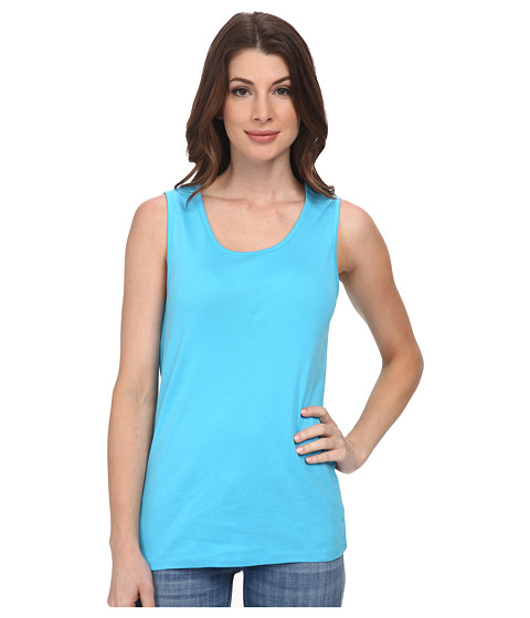 Pendleton - Rib Tank (Carolina Blue) Women's Sleeveless