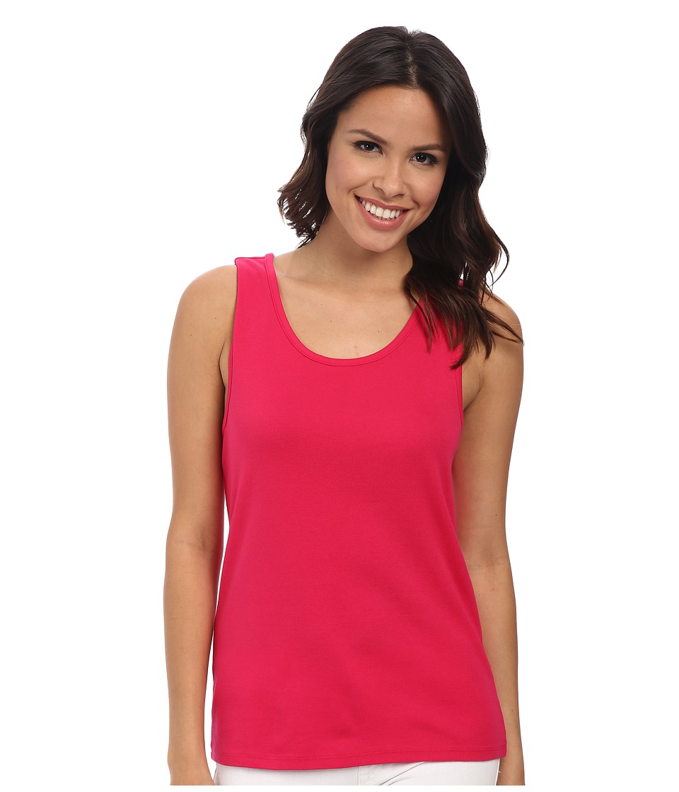 Pendleton - Rib Tank (Cherry Pink) Women's Sleeveless