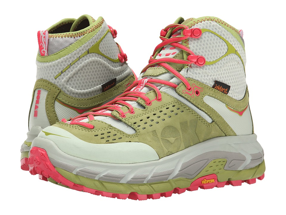 Hoka One One Tor Ultra Hi WP (Fog Green/Olive) Women