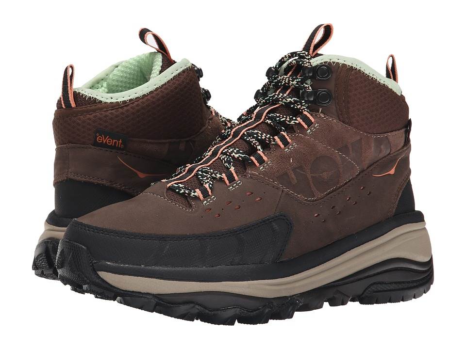 Hoka One One - Tor Summit Mid WP (Brown/Patina Green) Women's Hiking Boots