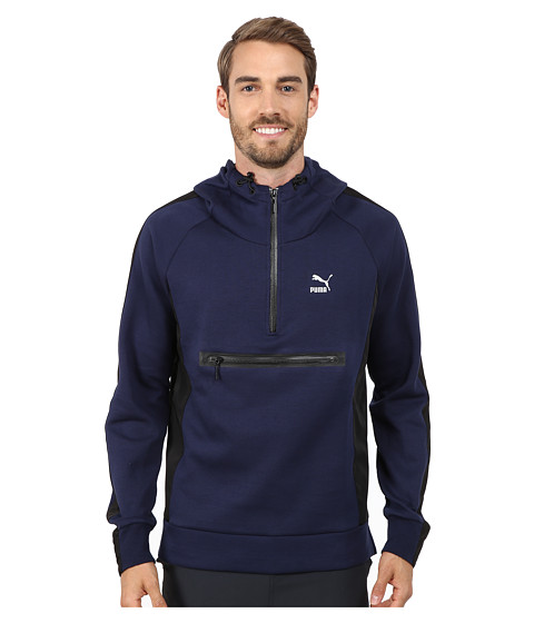 PUMA - Evo Savannah Hoodie (Peacoat) Men's Sweatshirt