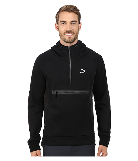 PUMA - Evo Savannah Hoodie (Black) Men's Sweatshirt