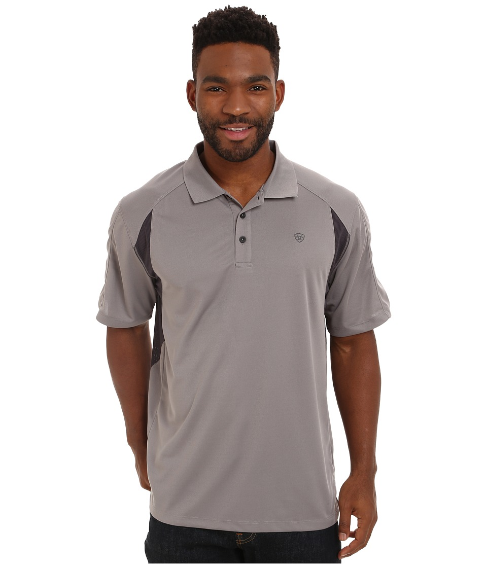 Ariat - AC Polo (Cloudbursst) Men's Clothing