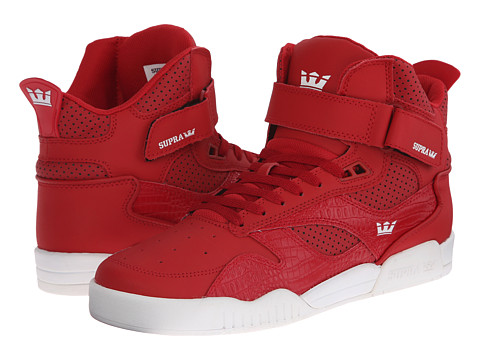 Supra - Bleeker (Cardinal Crocodile Embossed Leather) Men