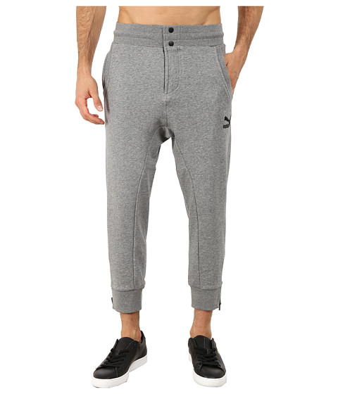 PUMA - 3/4 Jogger Pants (Medium Gray Heather) Men