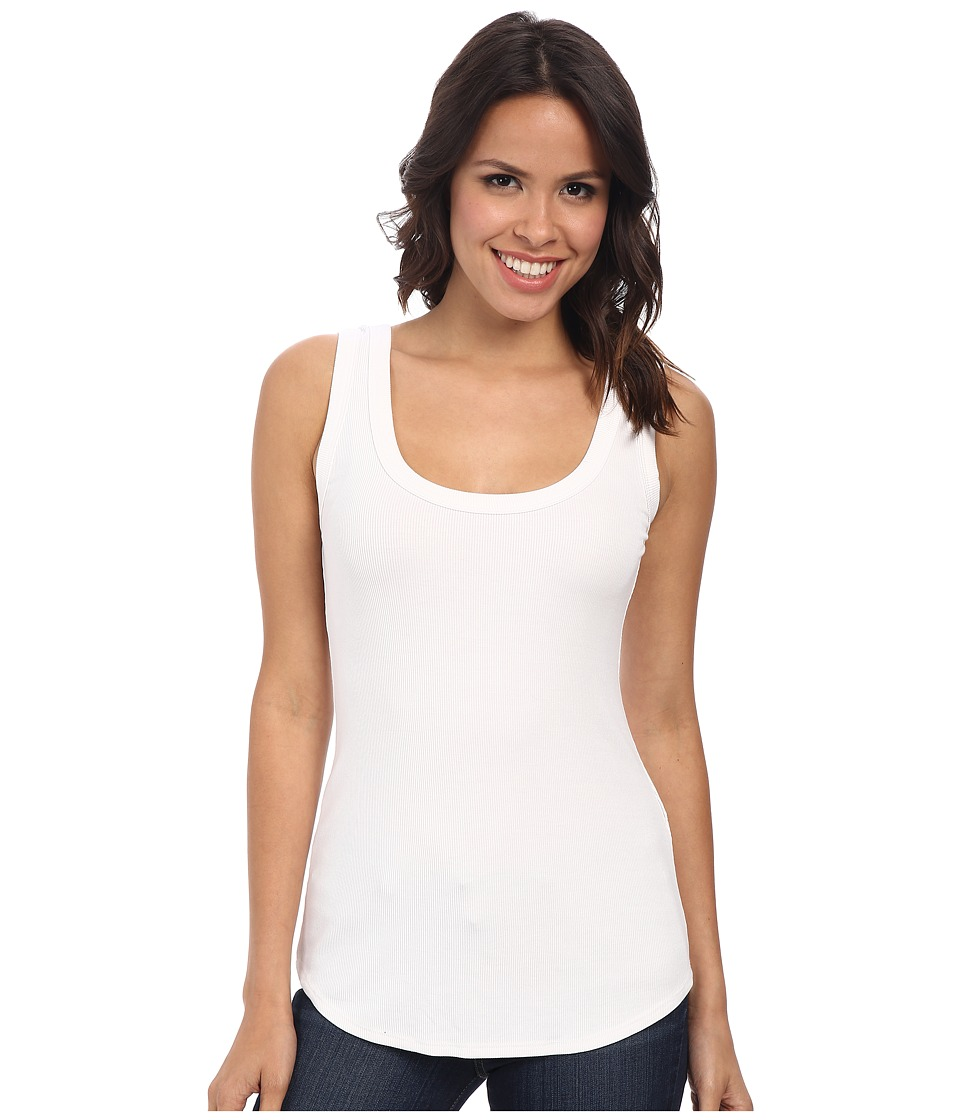 Karen Kane - Ribbed Tank Top (Off White) Women's Sleeveless