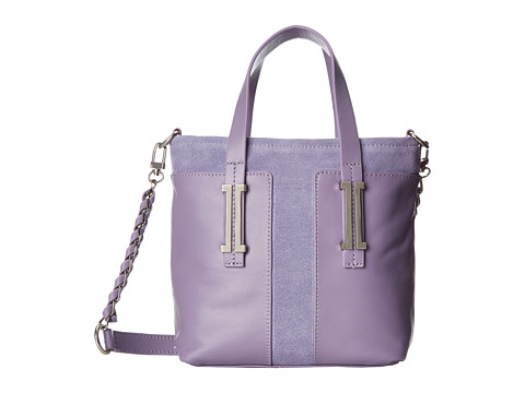Ivanka Trump - Hudson Mini Shopper (Lavender Nappa w/ Summer Suede) Shoulder Handbags