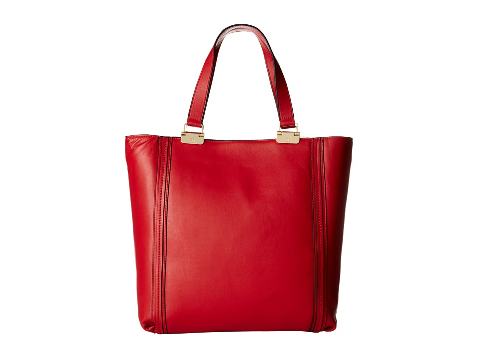 Ivanka Trump - Briarcliff Shopper (Red Oil Tan) Shoulder Handbags