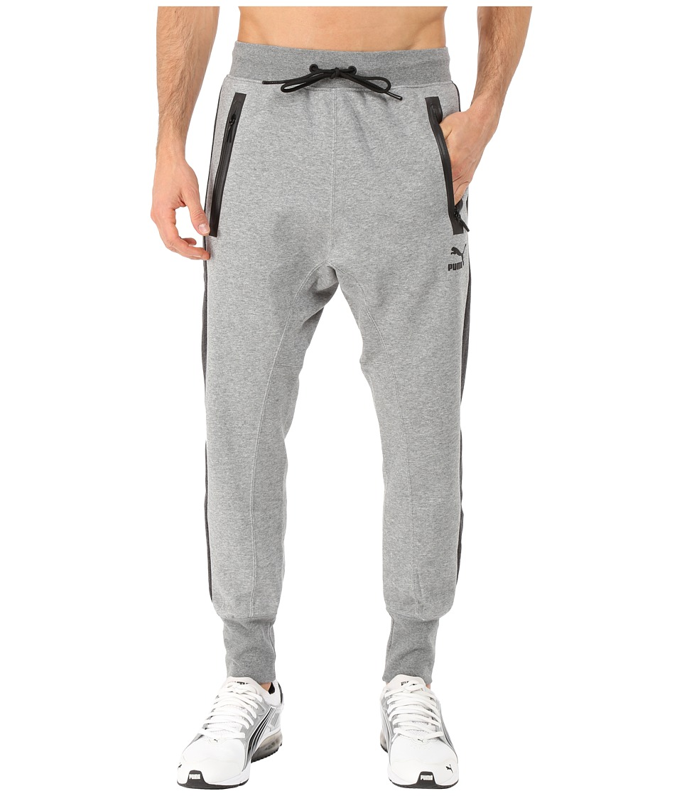 PUMA - Evo Sweat Pants (Medium Gray Heather) Men