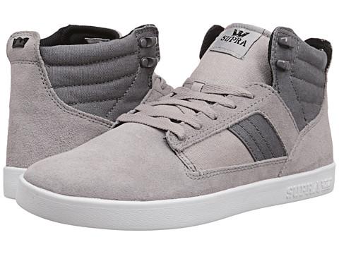 Supra - Bandit (Grey Suede/Canvas 1) Men's Skate Shoes