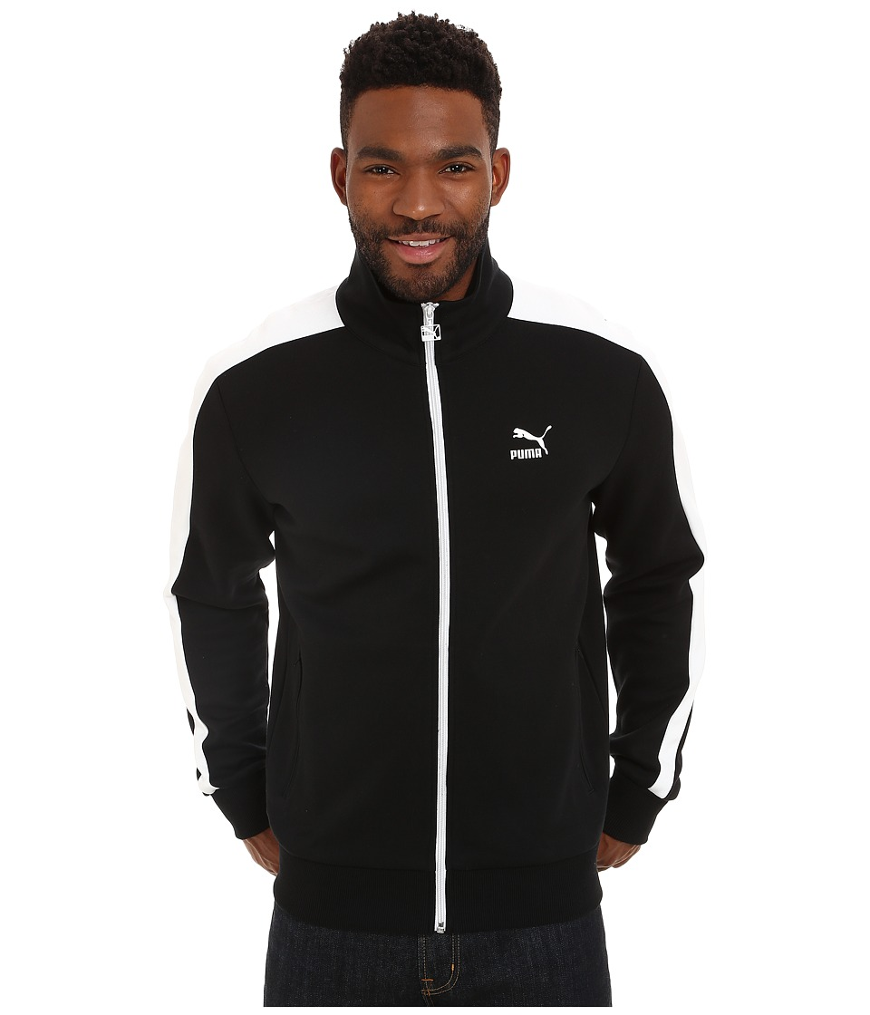 PUMA - T7 Track Jacket (Black) Men's Coat