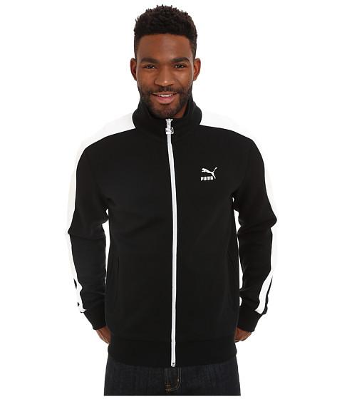 PUMA - T7 Track Jacket (Black) Men's Coat