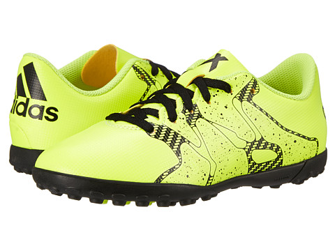 adidas Kids - X 15.4 TF J Soccer (Little Kid/Big Kid) (Solar Yellow/Frozen Yellow/Solar Yellow) Kids Shoes