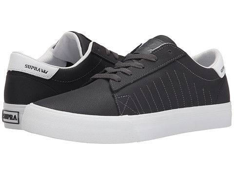 Supra - Belmont (Charcoal Textured Nubuck) Men
