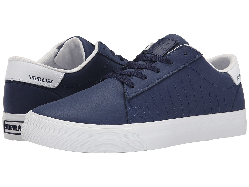 Supra - Belmont (Navy Textured Nubuck) Men's Shoes