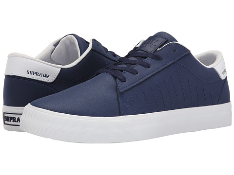 Supra - Belmont (Navy Textured Nubuck) Men