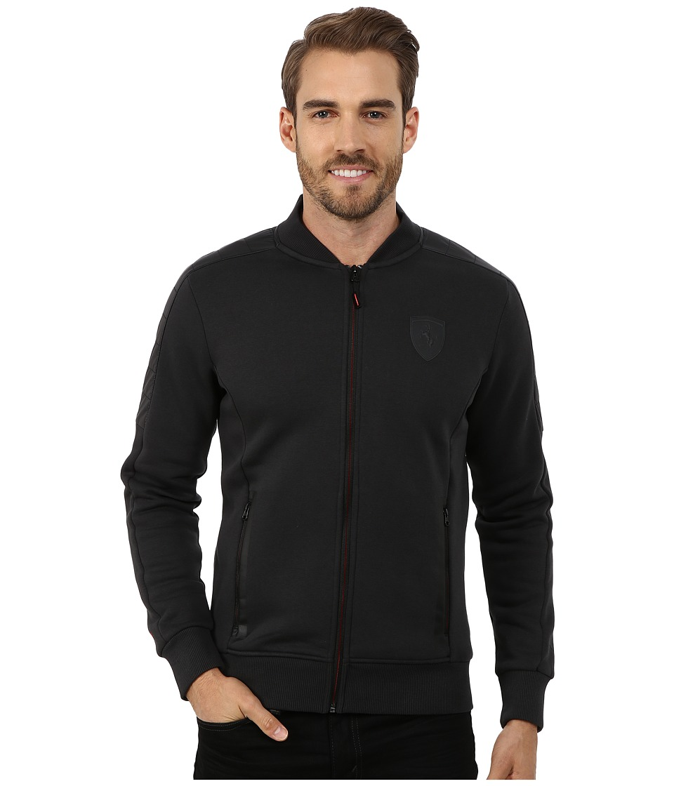 PUMA - Ferrari Sweat Jacket (Moonless Night) Men's Coat