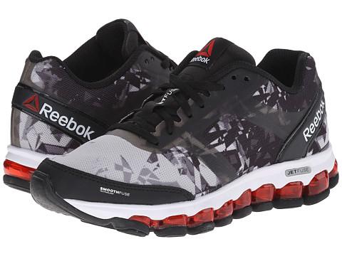 Reebok Kids - ZJet Run Soul (Big Kid) (Steel/Black/Red Rush/White) Boys Shoes