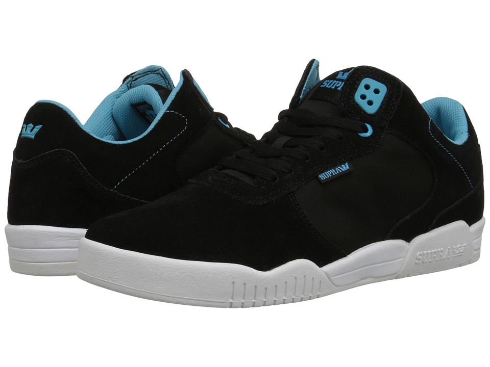Supra - Ellington (Black Suede) Men