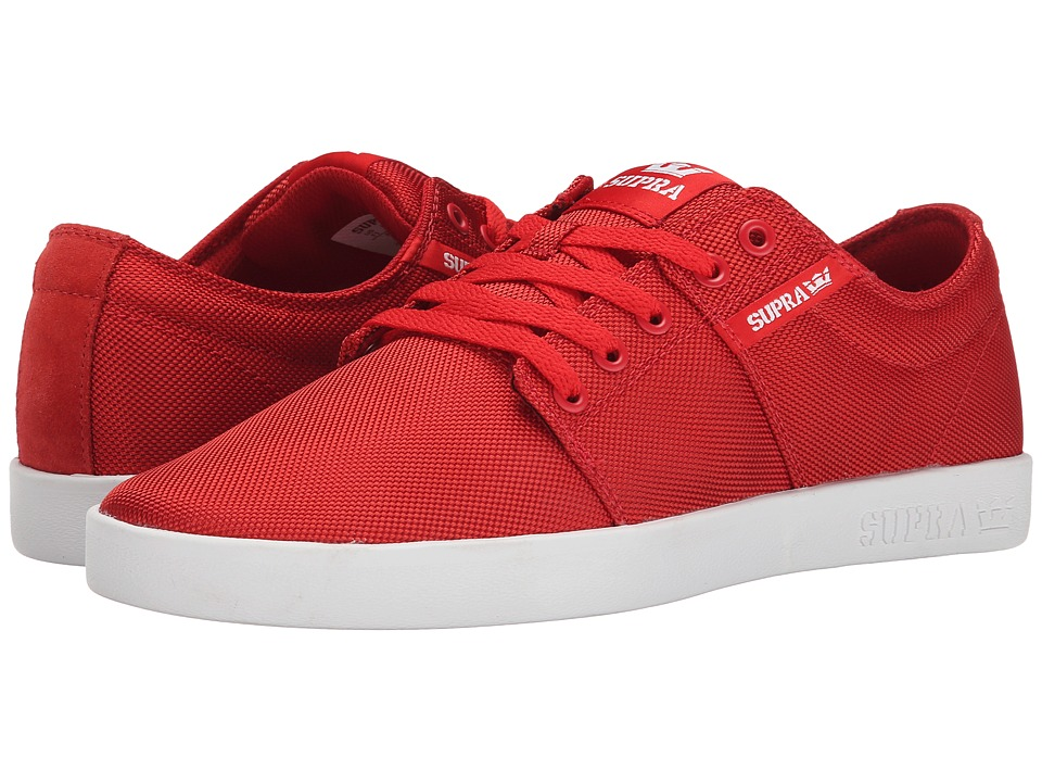 Supra - Stacks II (Red Ballistic Nylon) Men's Skate Shoes