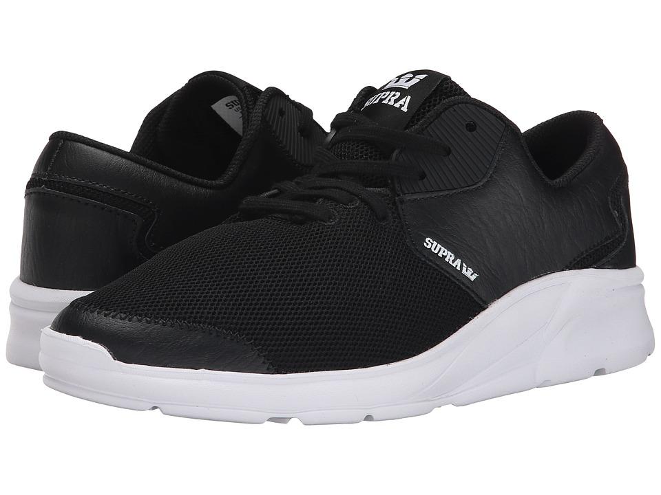 Supra - Noiz (Black Leather/Mesh) Women's Skate Shoes