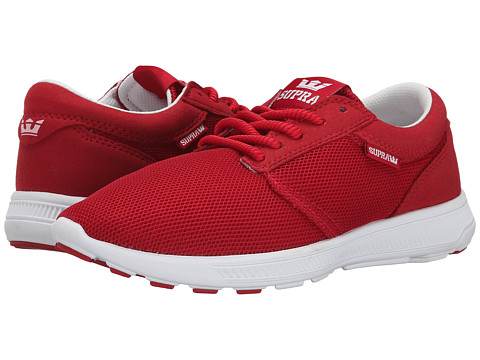 Supra - Hammer Run (Cardinal Mesh/Microfiber) Women's Skate Shoes