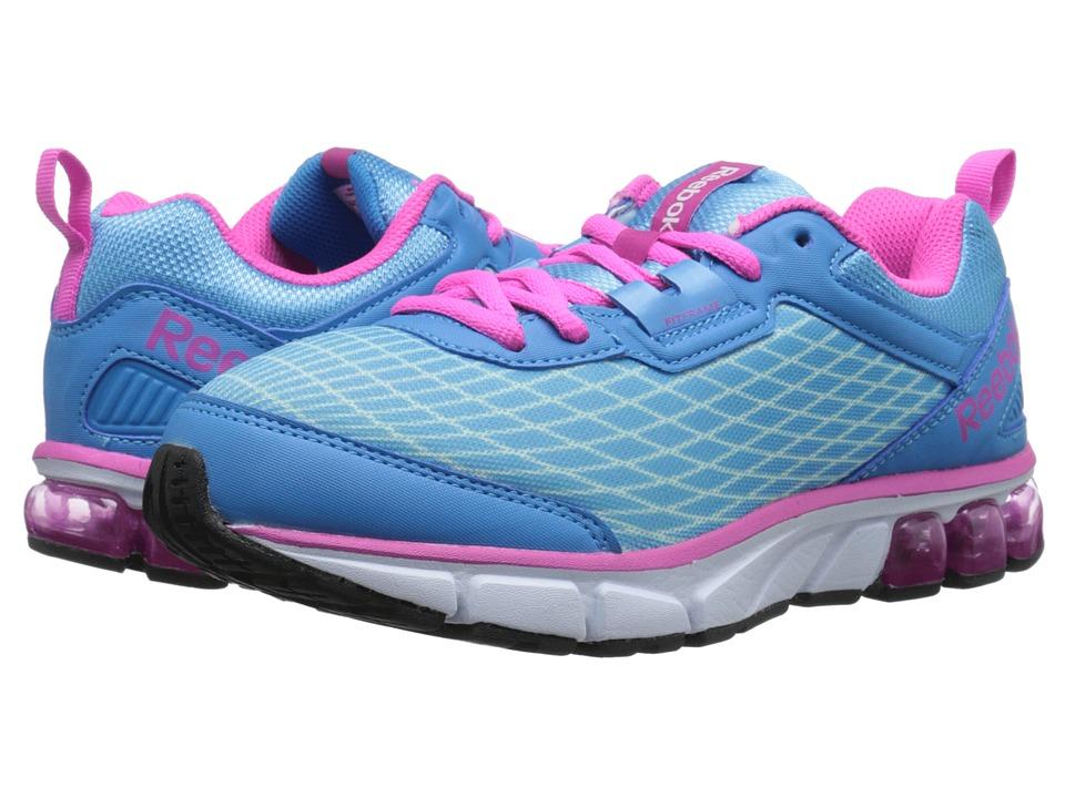 Reebok Kids - Jet Dashride (Big Kid) (Cool Breeze/California Blue/Charged Pink) Girls Shoes