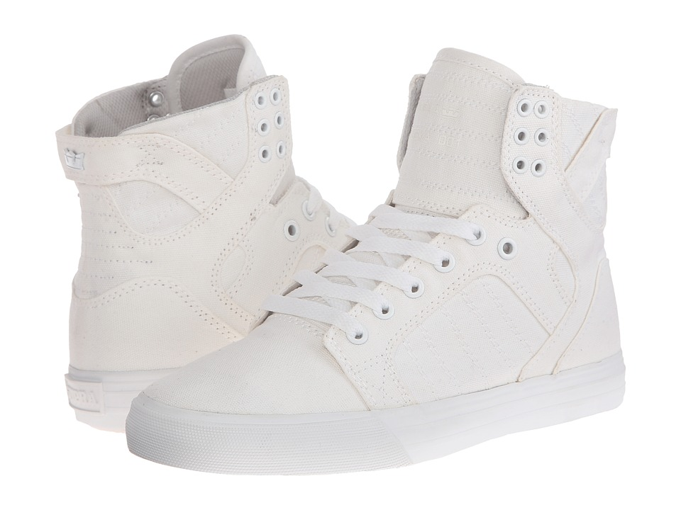 Supra Skytop D (Off White Canvas) Women