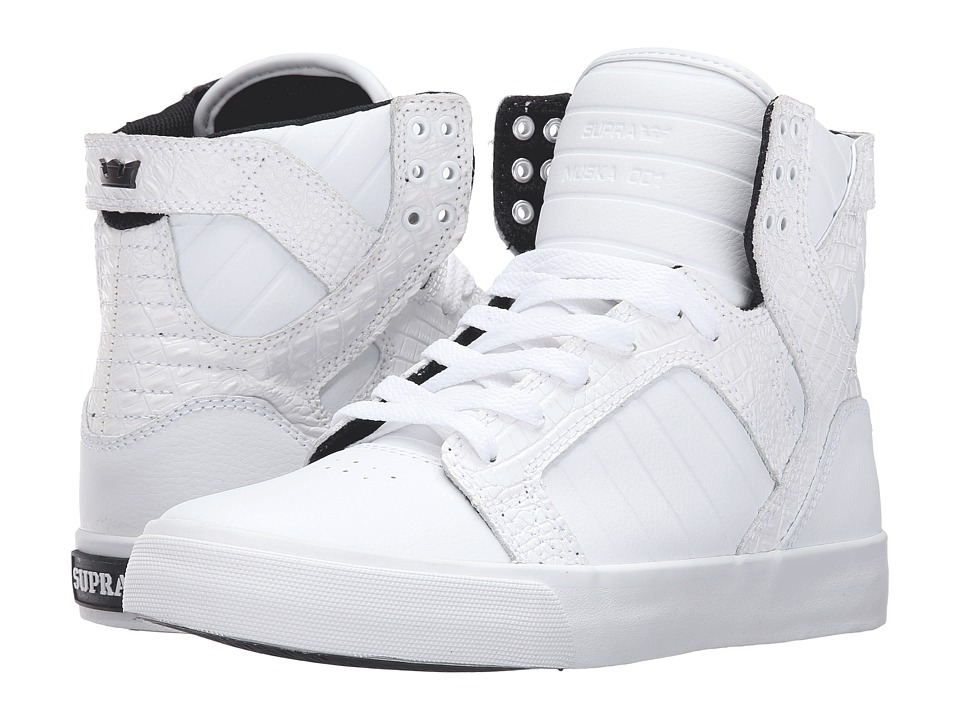 Supra - Skytop (White Leather) Women's Skate Shoes