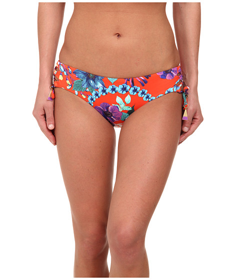 Seafolly - Field Trip Tie Side Hipster (Tangelo) Women's Swimwear
