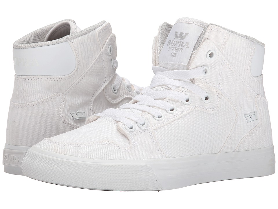 Supra - Vaider D (Off White Canvas) Women's Skate Shoes