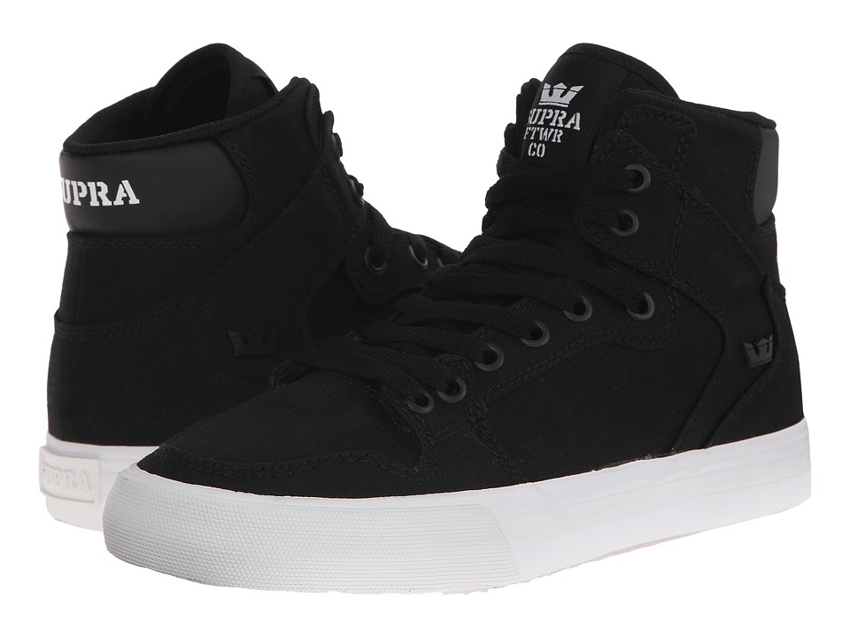 Supra - Vaider D (Black Canvas) Women's Skate Shoes